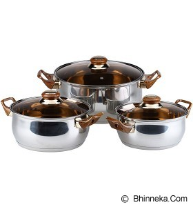 OXONE Eco Cookware Set [OX-933] - Panci Set